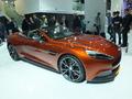 Vidéo en direct du salon de Francfort 2013 - Aston Martin Vanquish Volante : perruques en danger