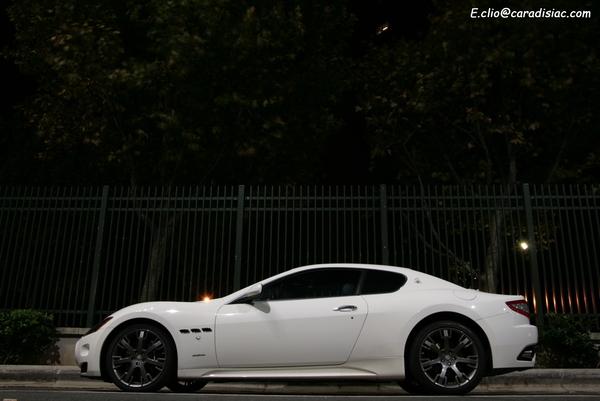 Photos du jour : Maserati Granturismo