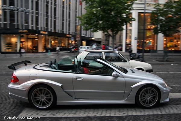 Photos du jour : Mercedes CLK DTM AMG Cabriolet