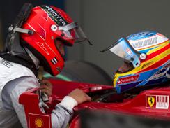 Pour Alonso, Ferrari est plus libre sans Schumi !