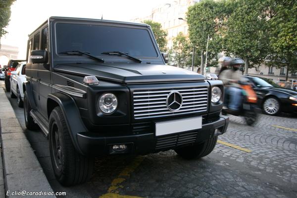 Photos du jour : Mercedes Classe G 55 AMG