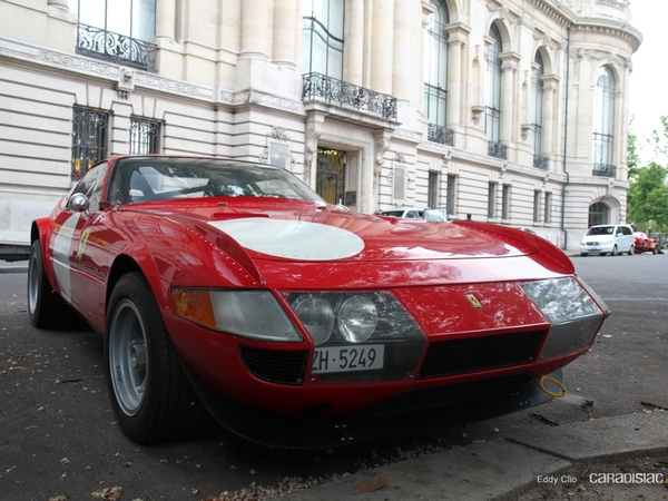 Photos du jour : Ferrari 365 Daytona groupe 4 (Tour Auto)