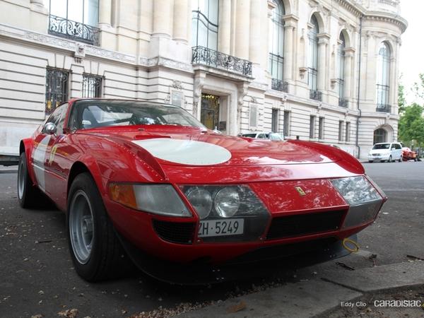 Photos du jour : Ferrari 365 Daytona groupe 4 (Tour Auto)
