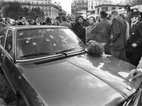 Fin de cavale pour la BMW de Jacques Mesrine