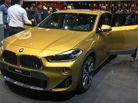 BMW X2 : plus qu'un coupé - Vidéo en direct du salon de Genève 2018
