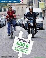 Scooter électrique : Paris reconduit l'aide à l'achat pour 2014