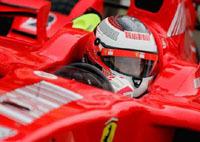 F1 : le rouge remplace le gris argenté au Castellet