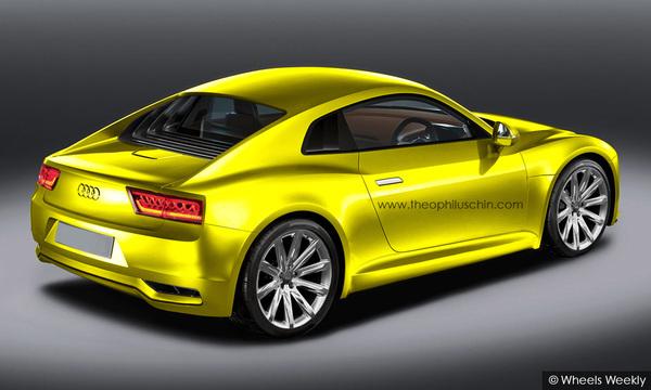 Audi R4 par T.Chin : R8 tronquée