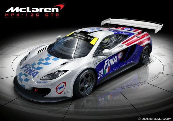 McLaren MP4-12C GTR : rêvons un peu