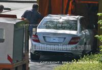 La future Mercedes C63 AMG ne peut plus se cacher