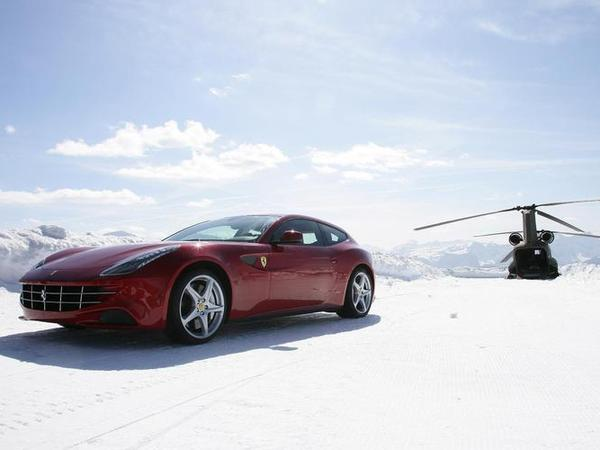 [vidéo] La Ferrari FF s'envole ...
