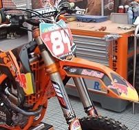La 250 KTM de Jeffrey Herlings