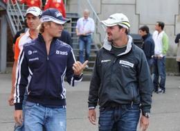 """Barrichello à Rosberg : """"va-t'en de là !"""""""