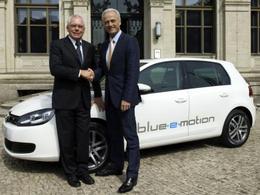 Le nouveau prototype  Volkswagen Golf blue-e-motion dévoilé en Allemagne