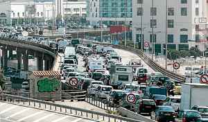 Embouteillages : vous perdez beaucoup d'argent et de temps à Marseille selon TomTom