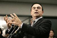 Carlos Ghosn: 7.44 millions d'euros de revenus 2006