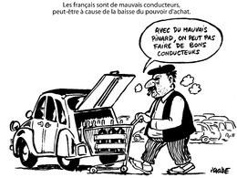 Le dessin du jour – Les vraies causes de l'insécurité routière d'après Placide
