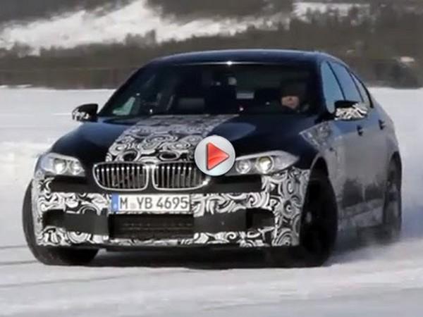 [Vidéo] Chris Harris s'amuse sur la neige avec la future BMW M5