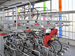Transports en commun / Vélo : « L'îlot Vélos »  à la gare RER de Neuilly-Plaisance