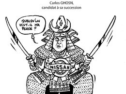 Le dessin du jour – Carlos Ghosn reconduit