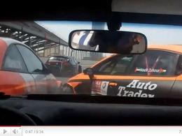 Honda Civic LAP57 - une remontée spectaculaire après un accrochage