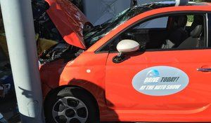 Salon de Los Angeles 2016 : l'essai d'une Fiat 500e qui tourne mal