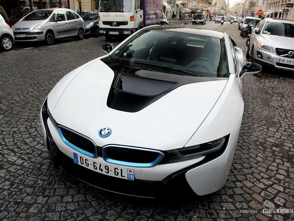 Photos du jour : BMW i8