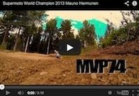 Mauno Hermunen, champion du Monde 2013: vidéo