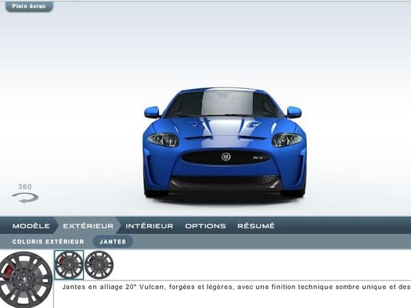 Jaguar XKR-S : 136 000 euros et un configurateur