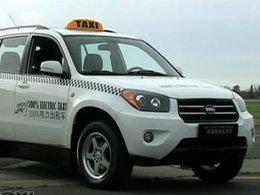Le ZAP Taxi électrique fabriqué en Chine