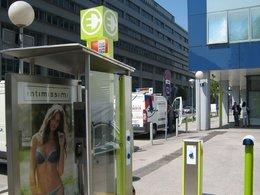 Insolite : des cabines téléphoniques deviennent des bornes de recharge électrique à Vienne !