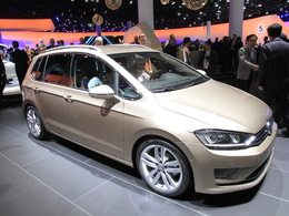 Vidéo en direct de Francfort 2013 - VW Golf Sportsvan, ne l'appelez plus Plus