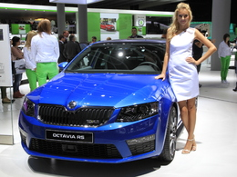 En direct de Francfort 2013 - Skoda Octavia 3 RS, du sport intelligent