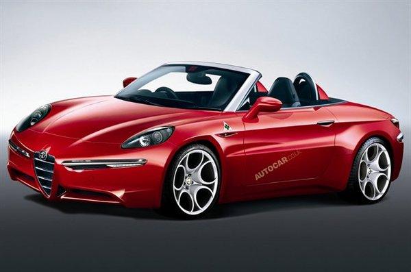 Quel style pour le futur Spider d'Alfa Romeo?