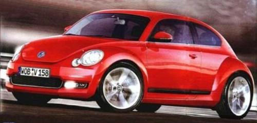 Prochaine Volkswagen New Beetle : comme ça ?