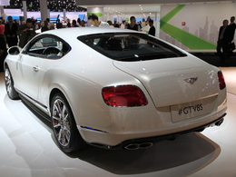 En direct de Francfort 2013 - Bentley Continental GT V8 S, joue-là comme Aston