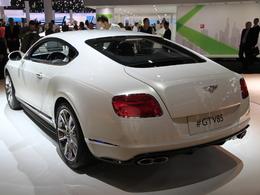 En direct de Francfort 2013 - Bentley Continental GT V8 S, joue-là comme Aston