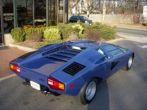 a vendre sublime lamborghini countach lp400 periscopo. Black Bedroom Furniture Sets. Home Design Ideas