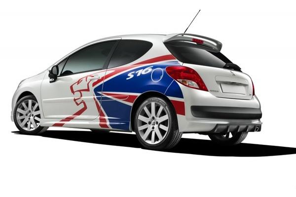 Une Peugeot 207 S16 Kris Meeke pour célébrer le titre IRC