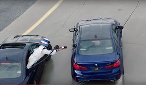 BMW : près de 400 km en glisse, record mondial