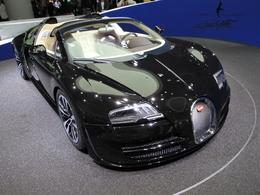 En direct de Francfort 2013 - Bugatti Veyron Grand Sport Legends Jean Bugatti, au nom du fils