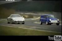 Vidéo : Le Nürburgring théâtre d'un magnifique tirage de bourre : Porsche VS Mini