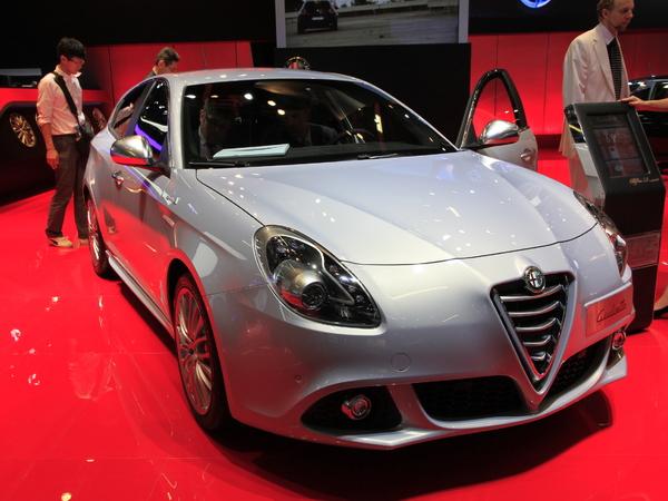 En direct de Francfort 2013 - Alfa Romeo Giulietta restylée