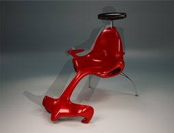 Chaise F1 par Alexander Christoff : my other car is a canapé