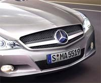 Restylage de la Mercedes SL: sera-t-elle ainsi?