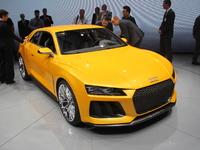 Vidéo en direct du salon de Francfort  2013 - Audi Sport Quattro concept : remplaçante de la RS5 ?