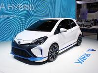 Vidéo en direct du salon de Francfort 2013 - Toyota Concept Yaris Hybrid R : méchante