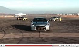 Réveil Auto - Une Nissan GT-R peut-elle drifter ?