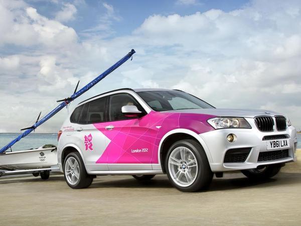 BMW dévoile les véhicules partenaires des JO de Londres