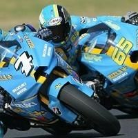 Moto GP - Suzuki: Les couleurs 2008